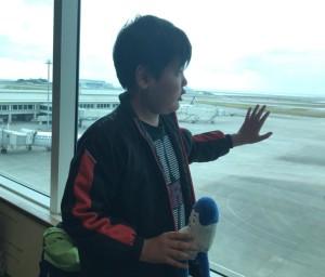 1月空港見学